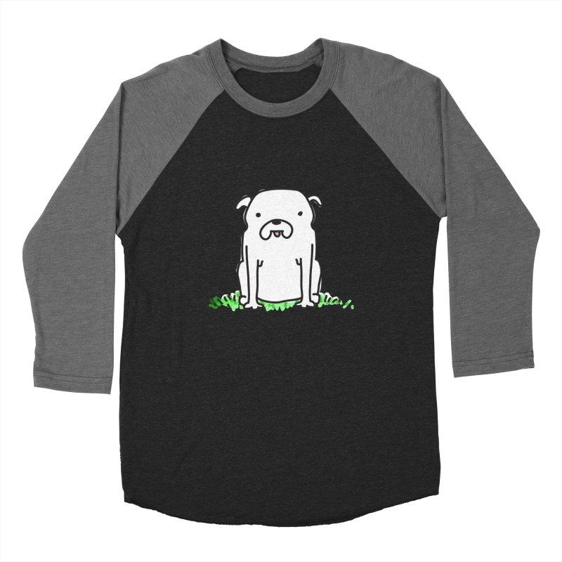 Dog Doodle Women's Baseball Triblend T-Shirt by kellabell9
