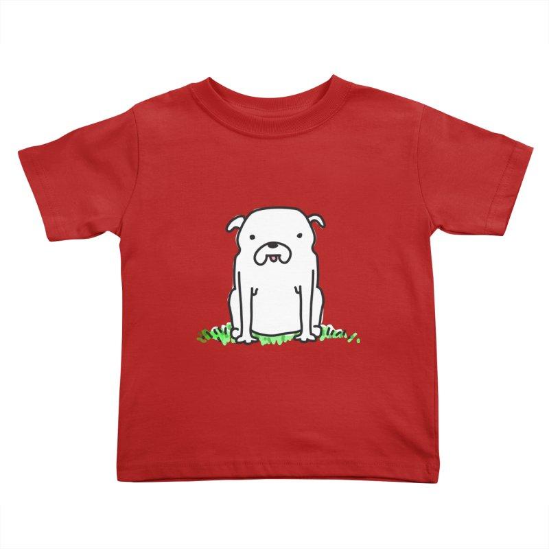 Dog Doodle Kids Toddler T-Shirt by kellabell9