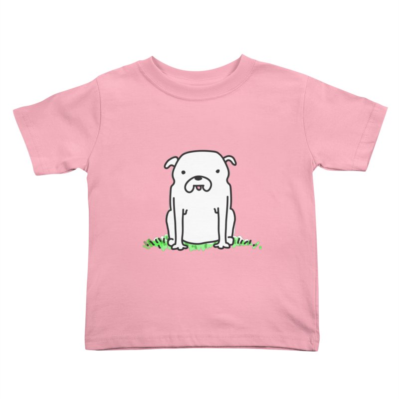 Dog Doodle Kids Toddler T-Shirt by kellabell9