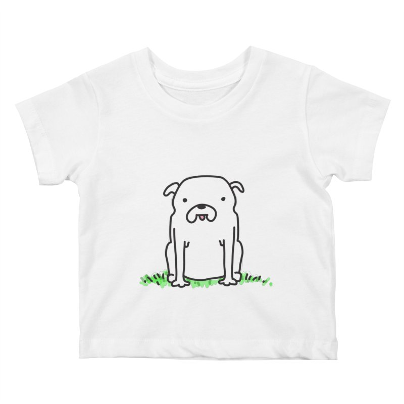 Dog Doodle Kids Baby T-Shirt by kellabell9
