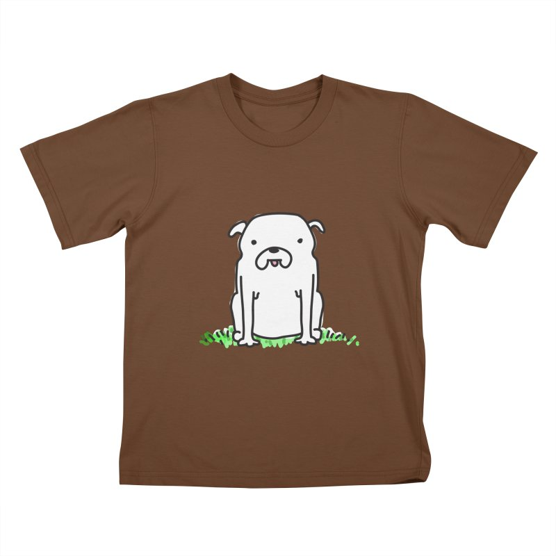Dog Doodle Kids T-Shirt by kellabell9