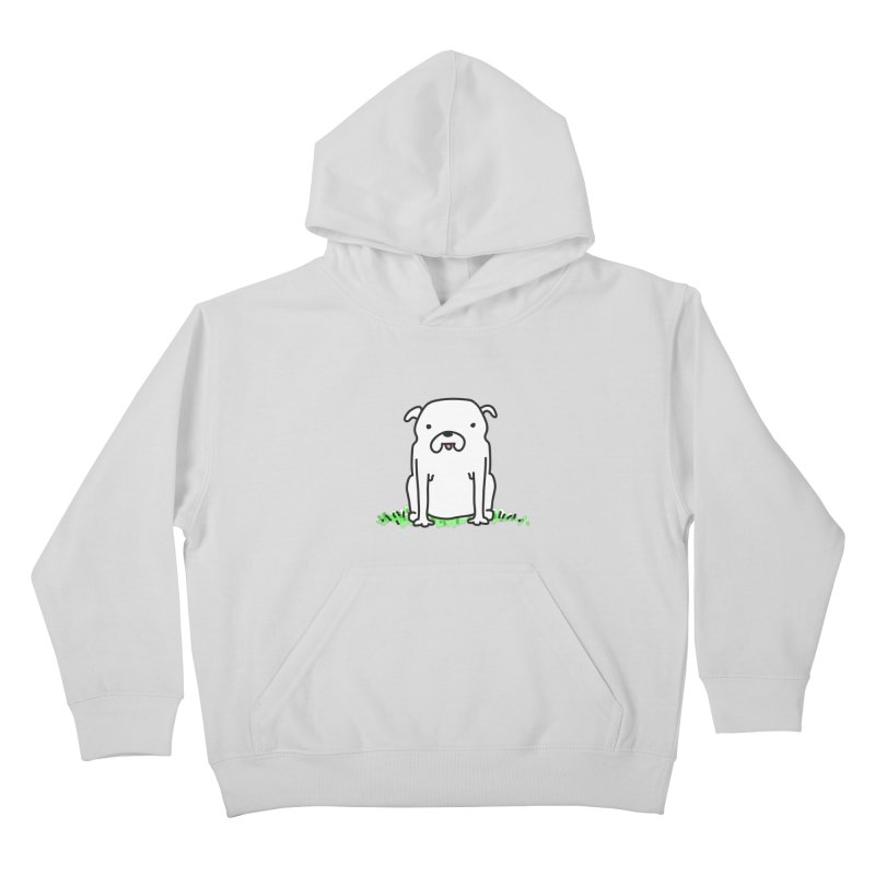 Dog Doodle Kids Pullover Hoody by kellabell9