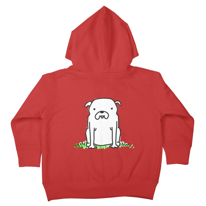 Dog Doodle Kids Toddler Zip-Up Hoody by kellabell9