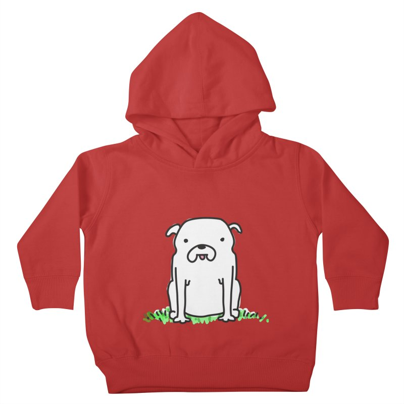 Dog Doodle Kids Toddler Pullover Hoody by kellabell9