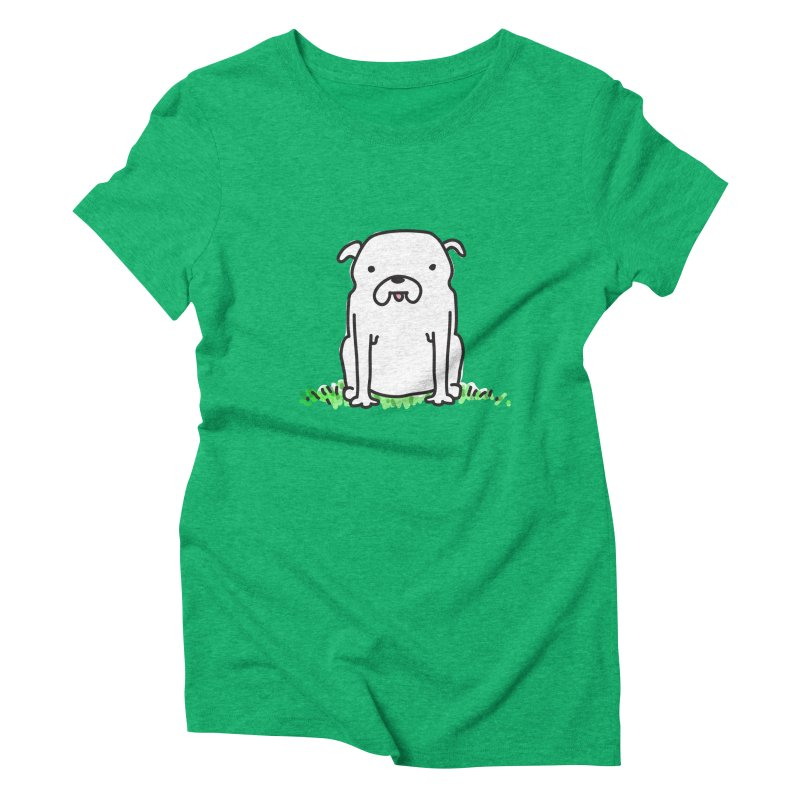 Dog Doodle Women's Triblend T-Shirt by kellabell9