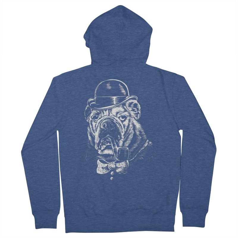 English Gentleman Men's French Terry Zip-Up Hoody by kellabell9