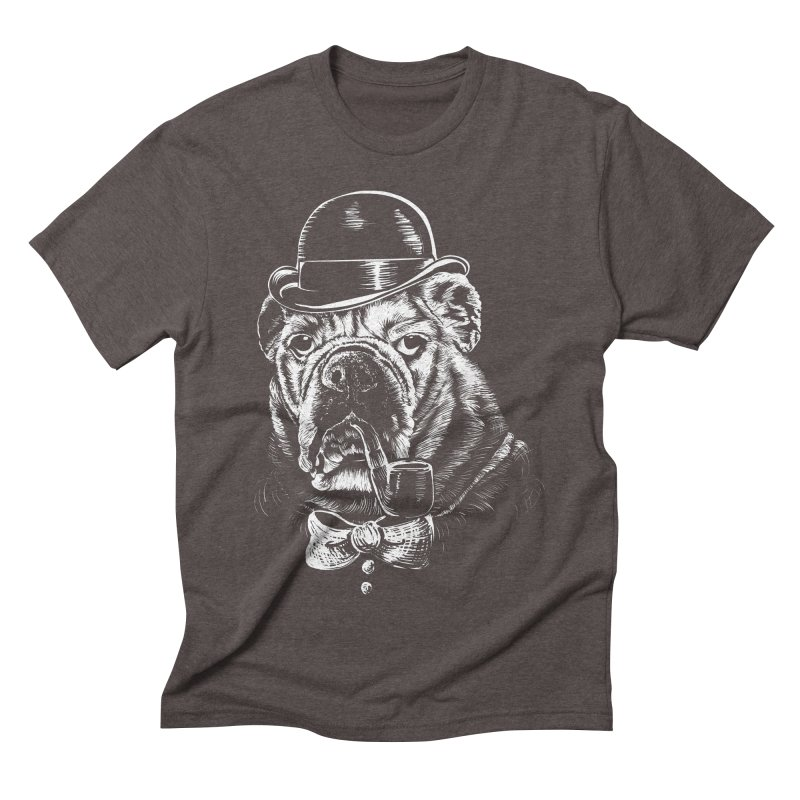 English Gentleman Men's Triblend T-shirt by kellabell9