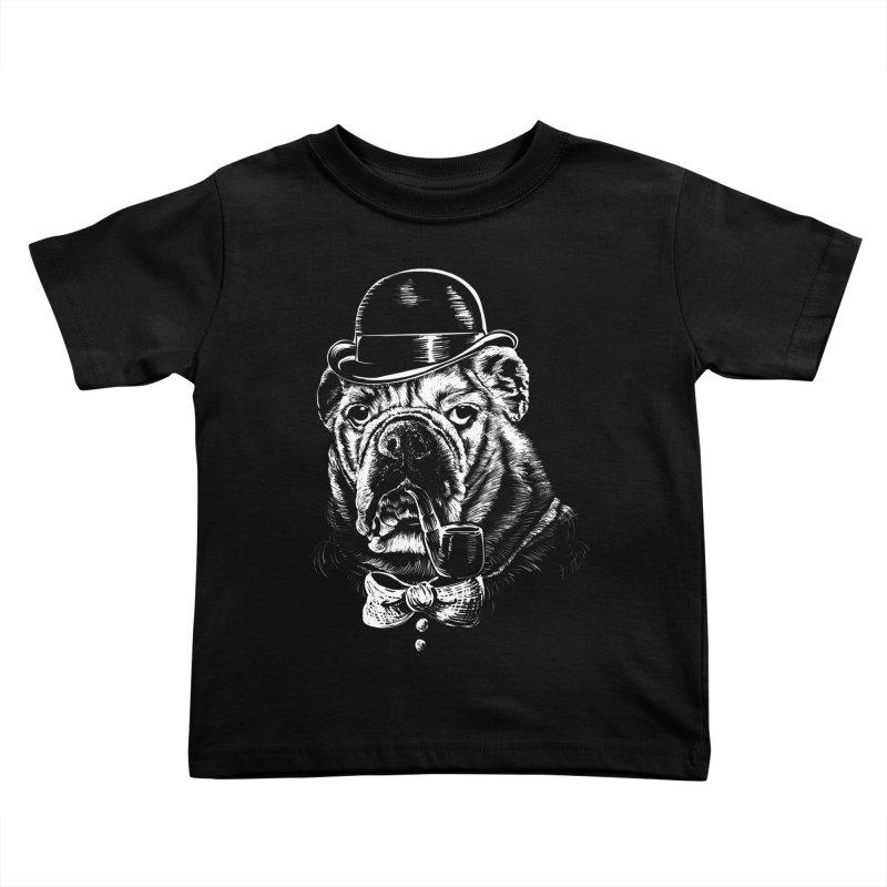 English Gentleman Kids Toddler T-Shirt by kellabell9