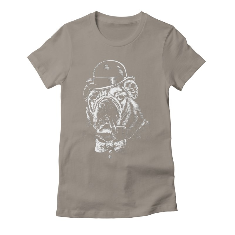 English Gentleman Women's Fitted T-Shirt by kellabell9