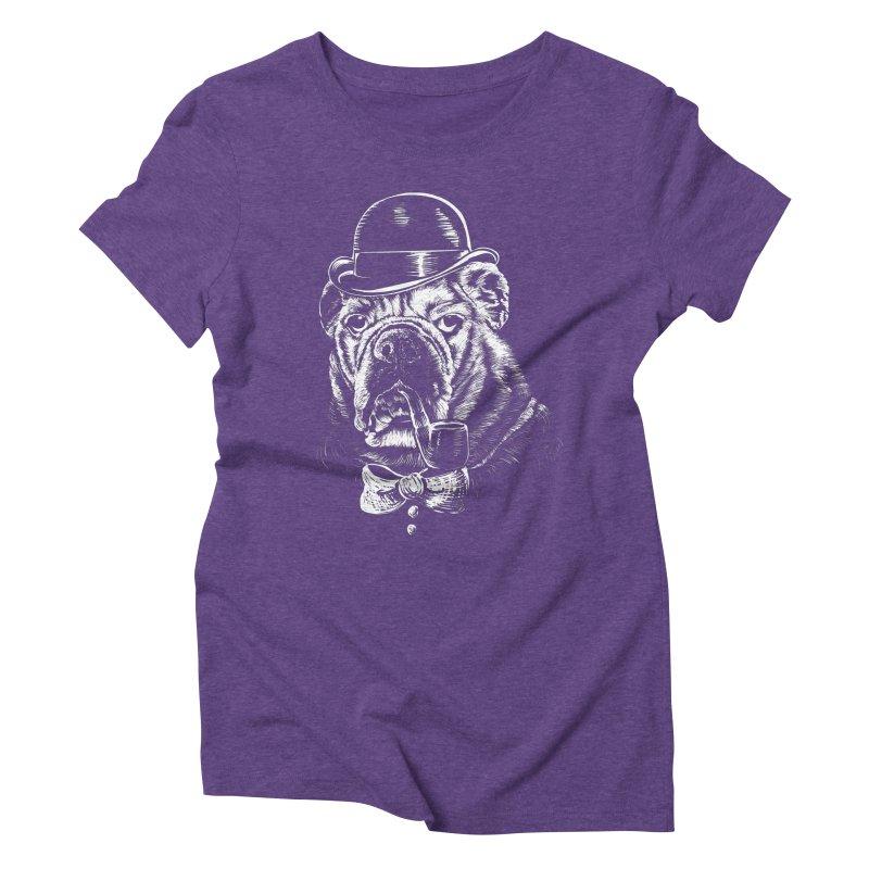 English Gentleman Women's Triblend T-shirt by kellabell9