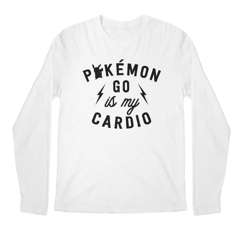 Cardio Men's Longsleeve T-Shirt by kellabell9