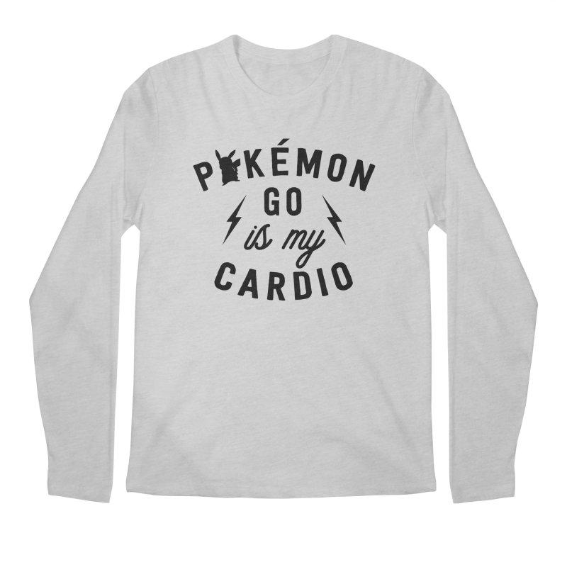 Cardio Men's Regular Longsleeve T-Shirt by kellabell9