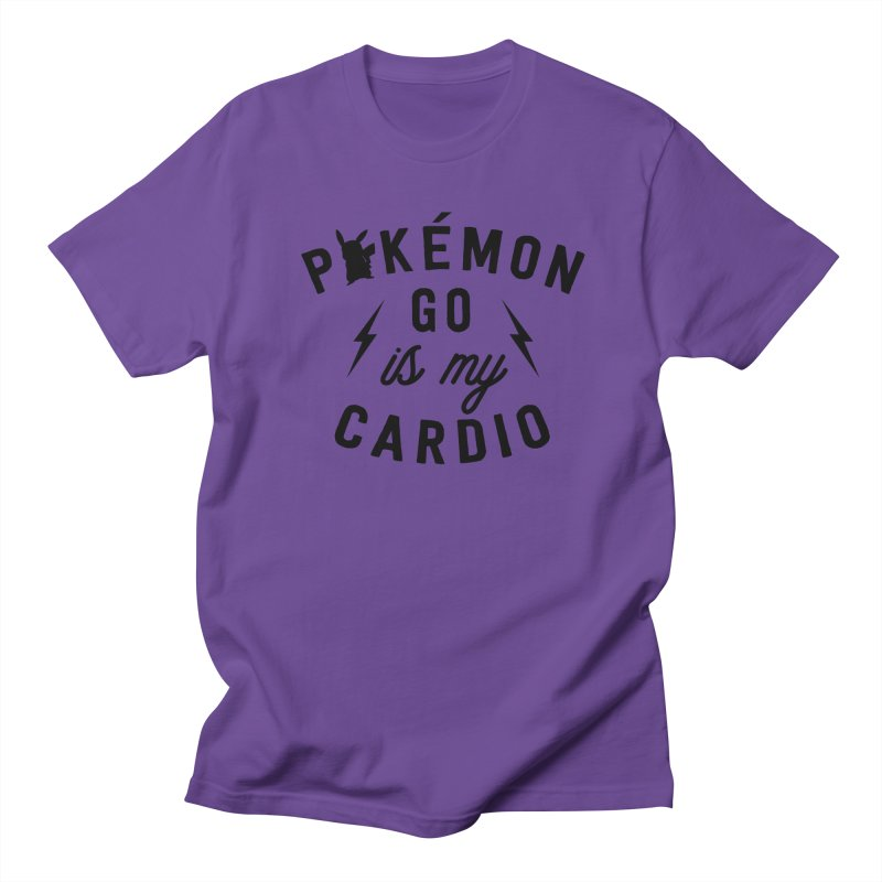 Cardio Men's Regular T-Shirt by kellabell9