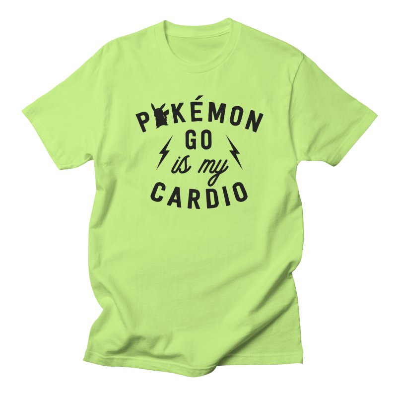 Cardio Men's T-shirt by kellabell9