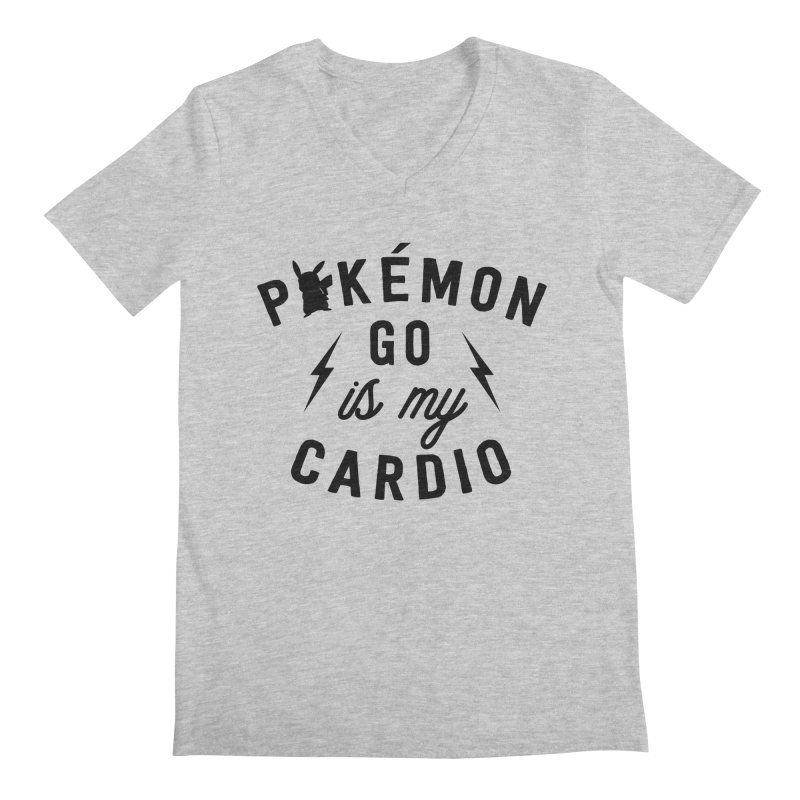Cardio Men's V-Neck by kellabell9