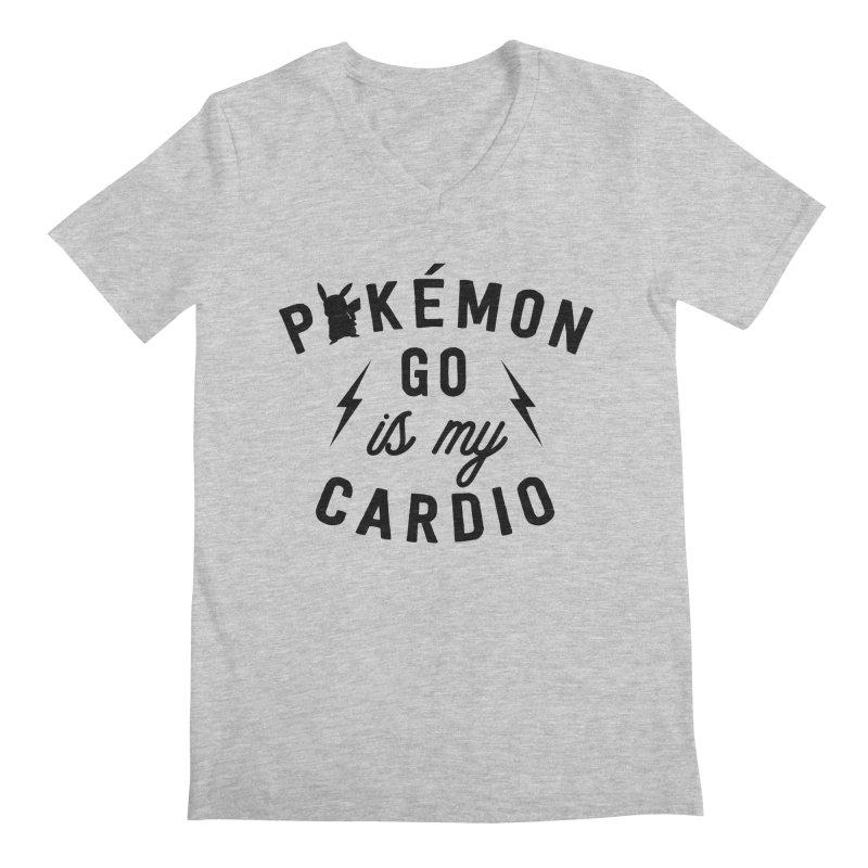 Cardio Men's Regular V-Neck by kellabell9