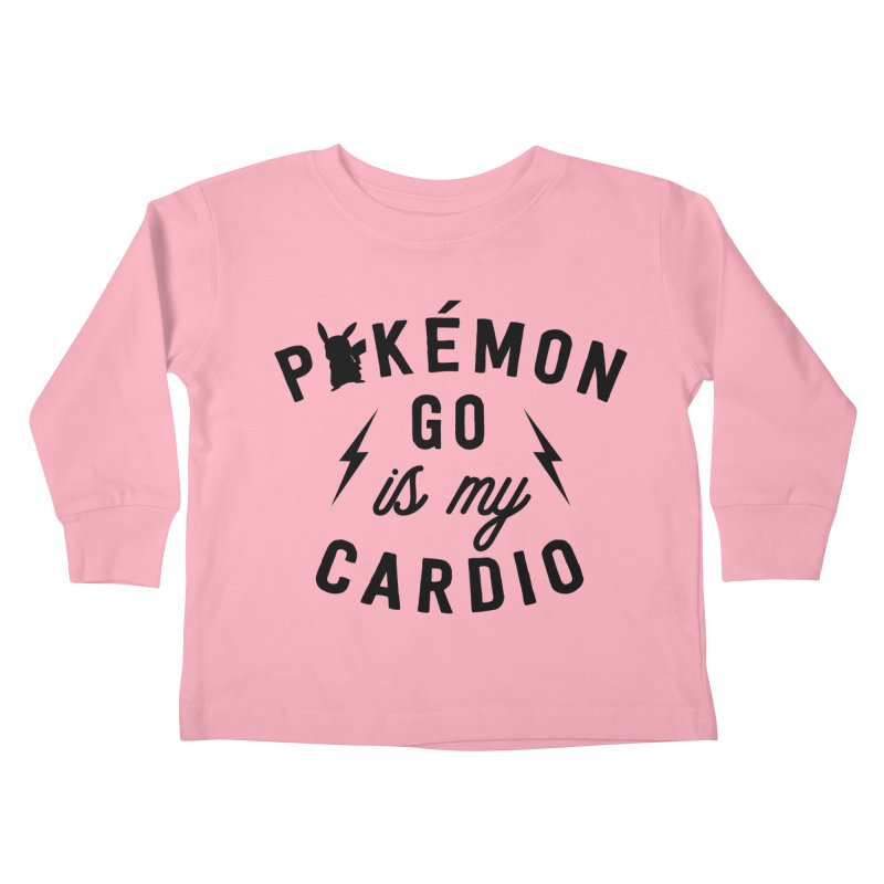 Cardio Kids Toddler Longsleeve T-Shirt by kellabell9