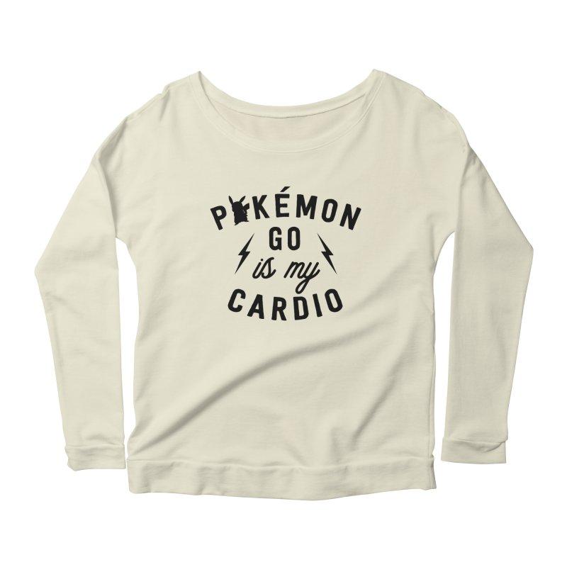 Cardio Women's Scoop Neck Longsleeve T-Shirt by kellabell9