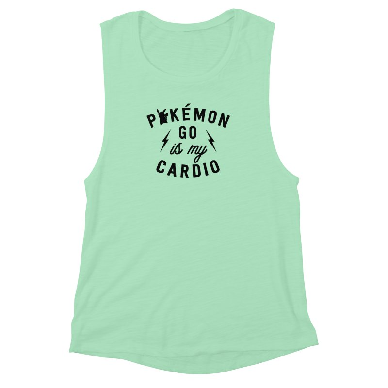 Cardio Women's Muscle Tank by kellabell9