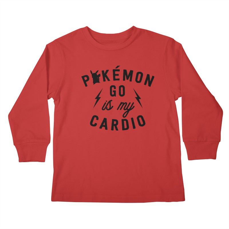 Cardio Kids Longsleeve T-Shirt by kellabell9