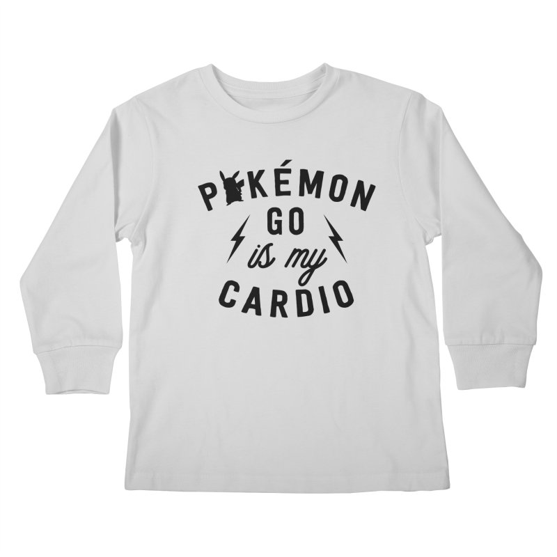 Cardio Kids Longsleeve T-Shirt by kellabell9