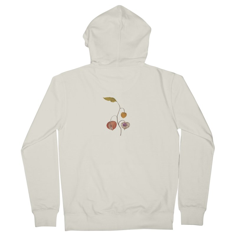 Komeiji cherry Women's Zip-Up Hoody by kelletdesign's Artist Shop