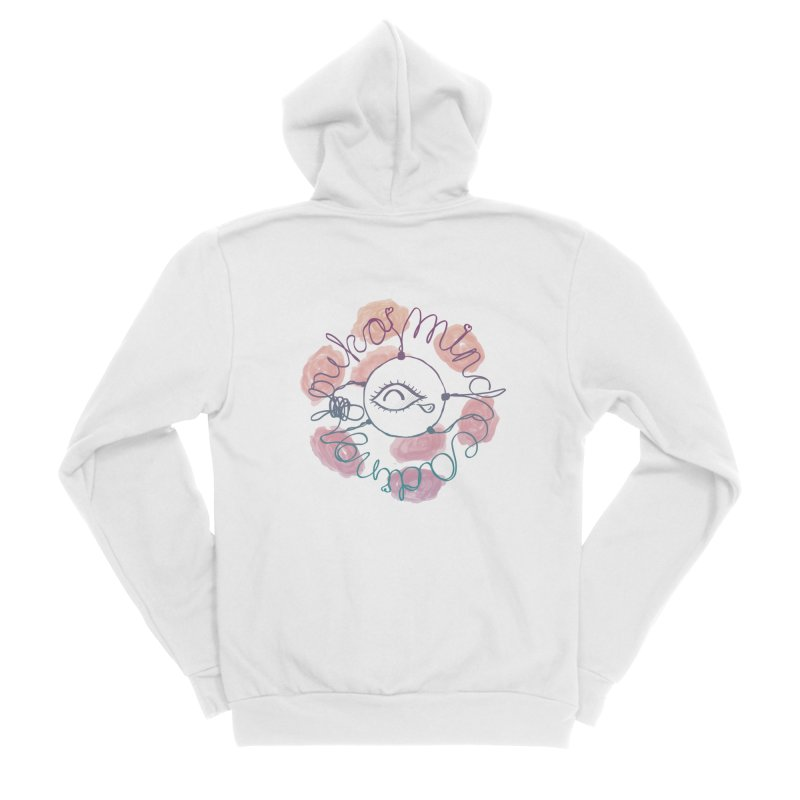 cozy third-eye Men's Zip-Up Hoody by kelletdesign's Artist Shop