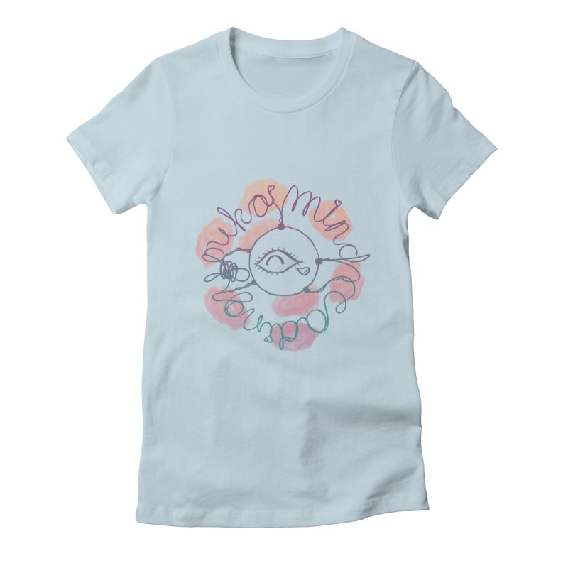 cozy third-eye Women's T-Shirt by kelletdesign's Artist Shop