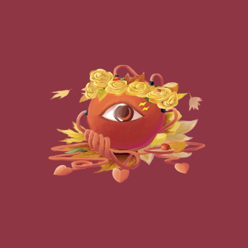 Crowned sharp eye Women's V-Neck by kelletdesign's Artist Shop