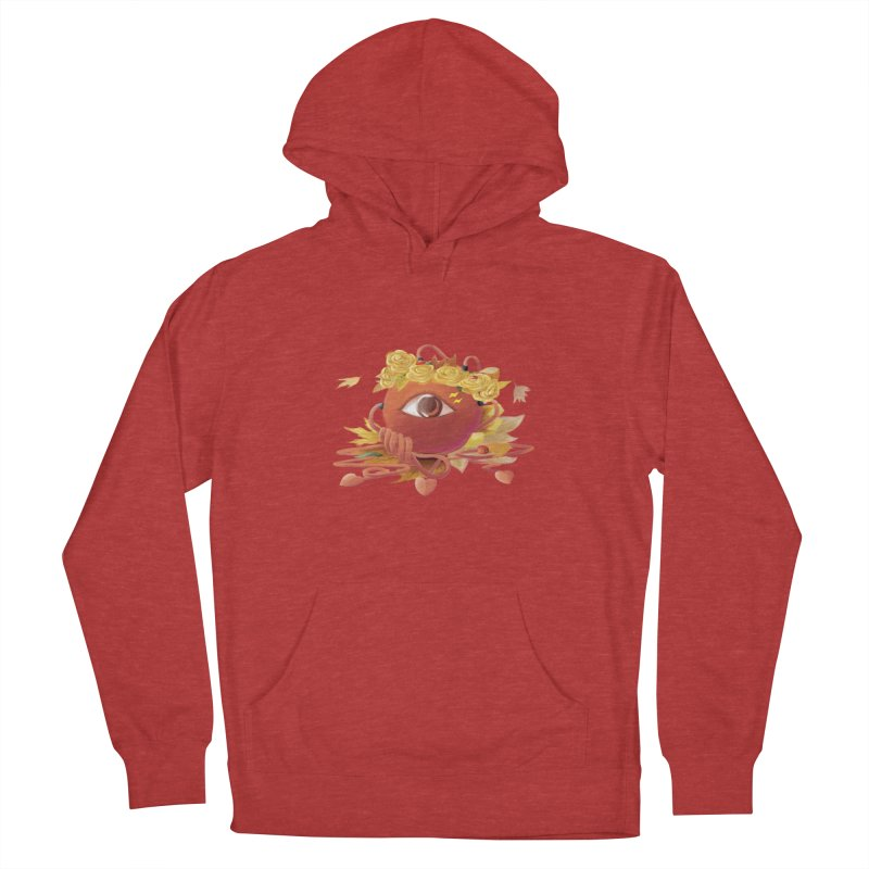 Crowned sharp eye Women's French Terry Pullover Hoody by kelletdesign's Artist Shop