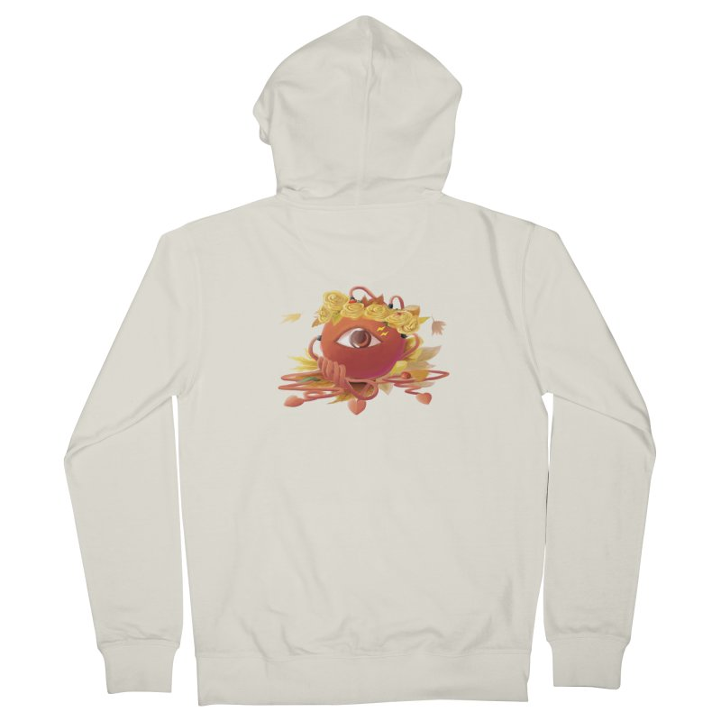 Crowned sharp eye Women's Zip-Up Hoody by kelletdesign's Artist Shop