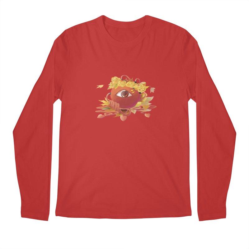 Crowned sharp eye Men's Longsleeve T-Shirt by kelletdesign's Artist Shop