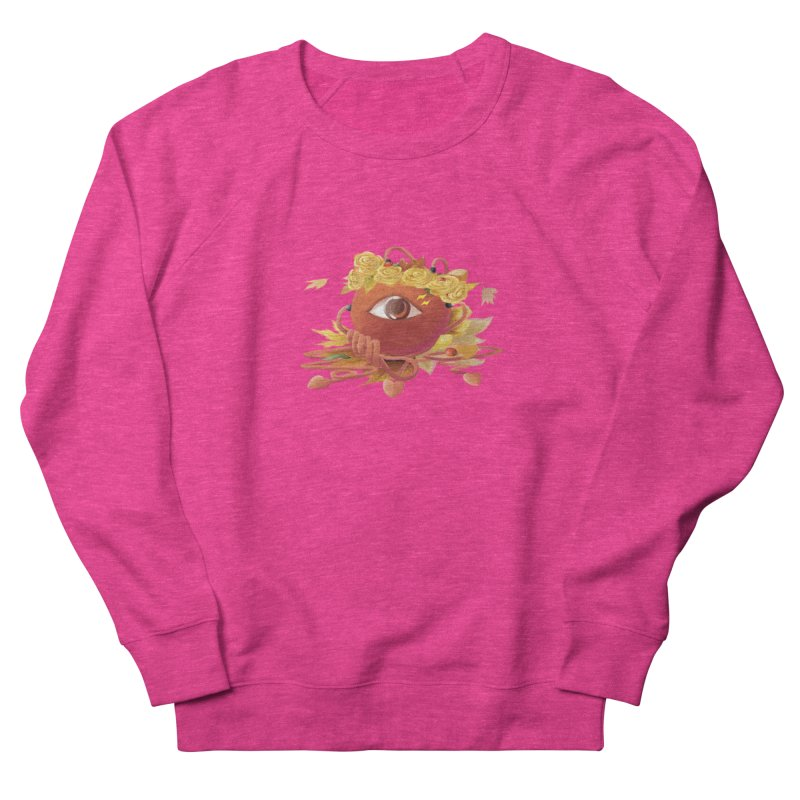Crowned sharp eye Women's Sweatshirt by kelletdesign's Artist Shop