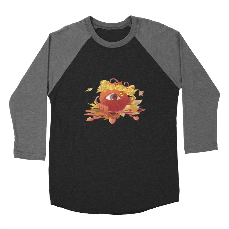 Crowned sharp eye Women's Baseball Triblend Longsleeve T-Shirt by kelletdesign's Artist Shop