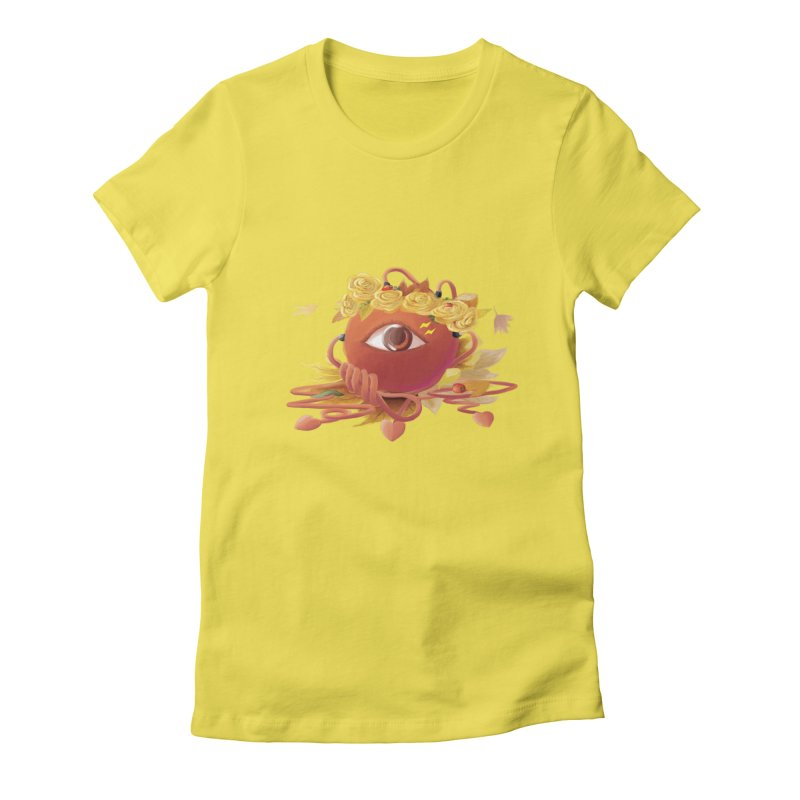 Crowned sharp eye Women's T-Shirt by kelletdesign's Artist Shop
