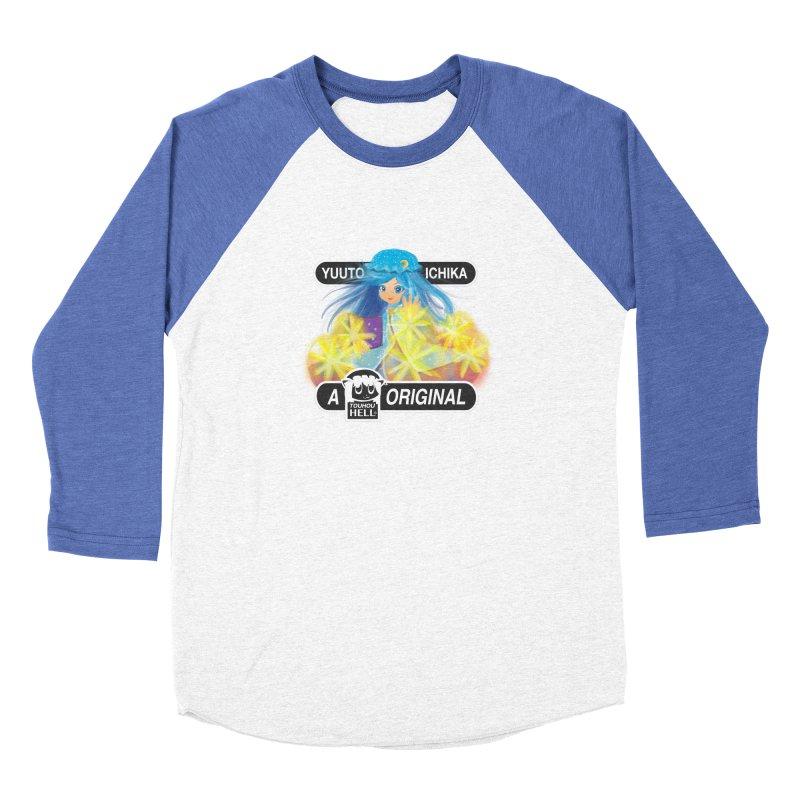 Yuuto Ichika - A Touhou Hell Original Women's Baseball Triblend Longsleeve T-Shirt by kelletdesign's Artist Shop