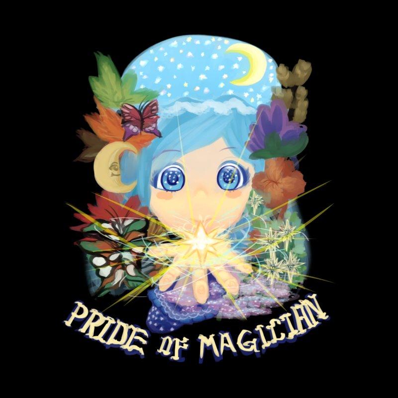 Pride of Magician Men's Zip-Up Hoody by kelletdesign's Artist Shop