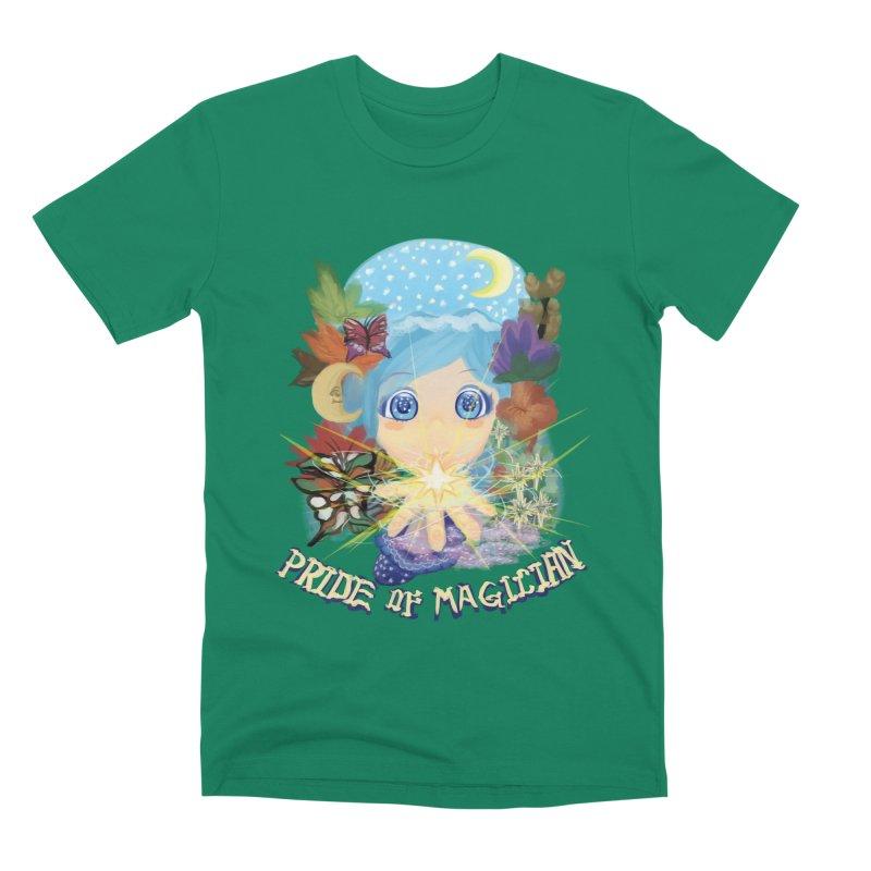Pride of Magician Men's Premium T-Shirt by kelletdesign's Artist Shop