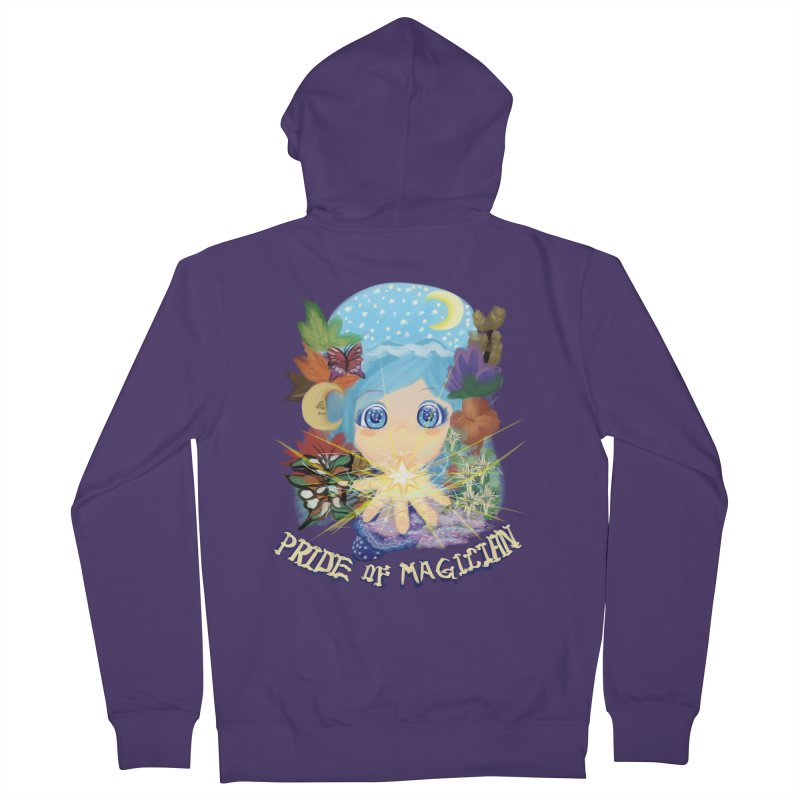 Pride of Magician Women's French Terry Zip-Up Hoody by kelletdesign's Artist Shop