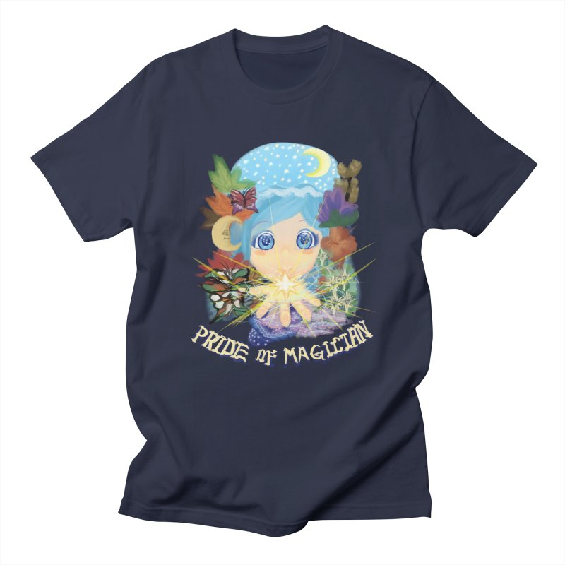 Pride of Magician Men's Regular T-Shirt by kelletdesign's Artist Shop