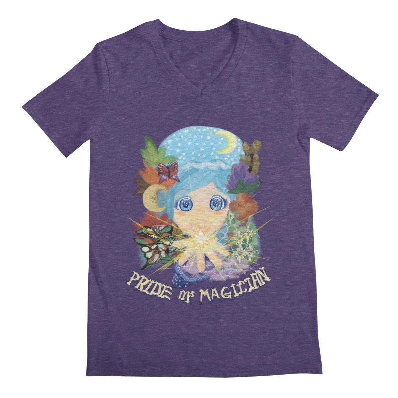 Pride of Magician Men's V-Neck by kelletdesign's Artist Shop