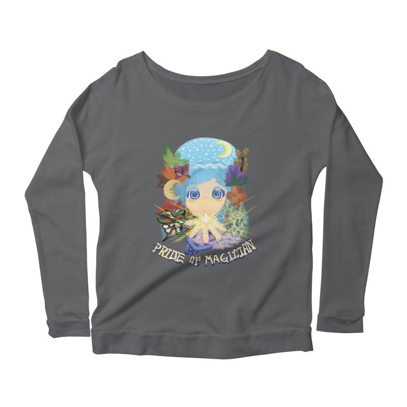 Pride of Magician Women's Scoop Neck Longsleeve T-Shirt by kelletdesign's Artist Shop