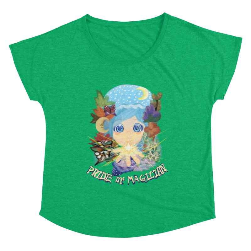 Pride of Magician Women's Scoop Neck by kelletdesign's Artist Shop