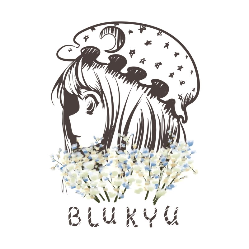 BLUKYU light color version Men's T-Shirt by kelletdesign's Artist Shop