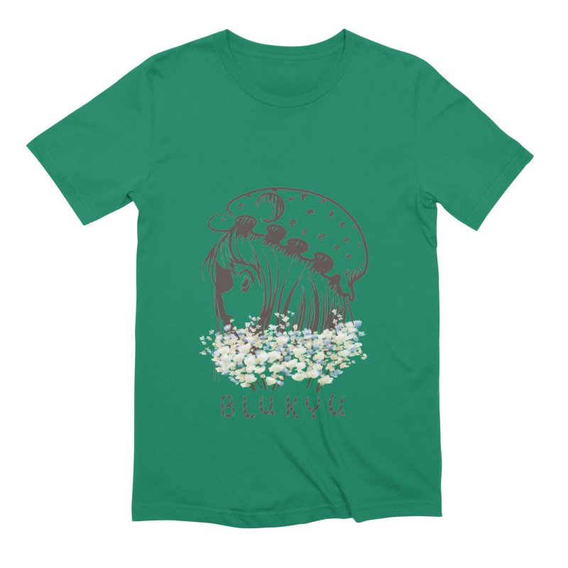 BLUKYU light color version Men's Extra Soft T-Shirt by kelletdesign's Artist Shop