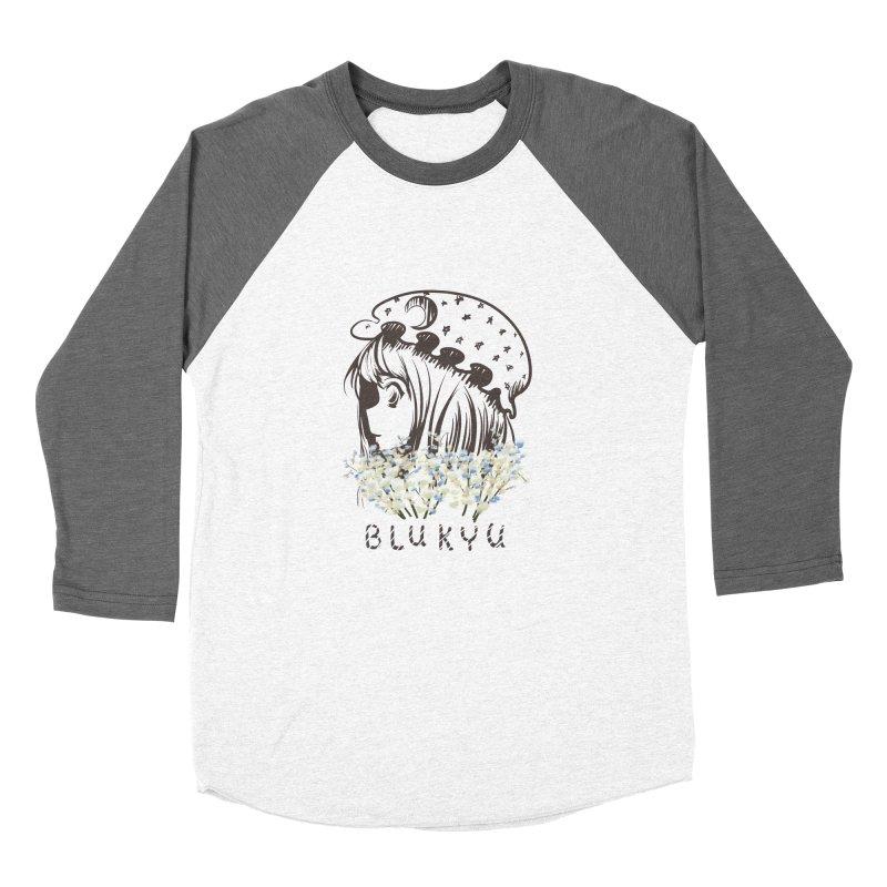 BLUKYU light color version Women's Longsleeve T-Shirt by kelletdesign's Artist Shop