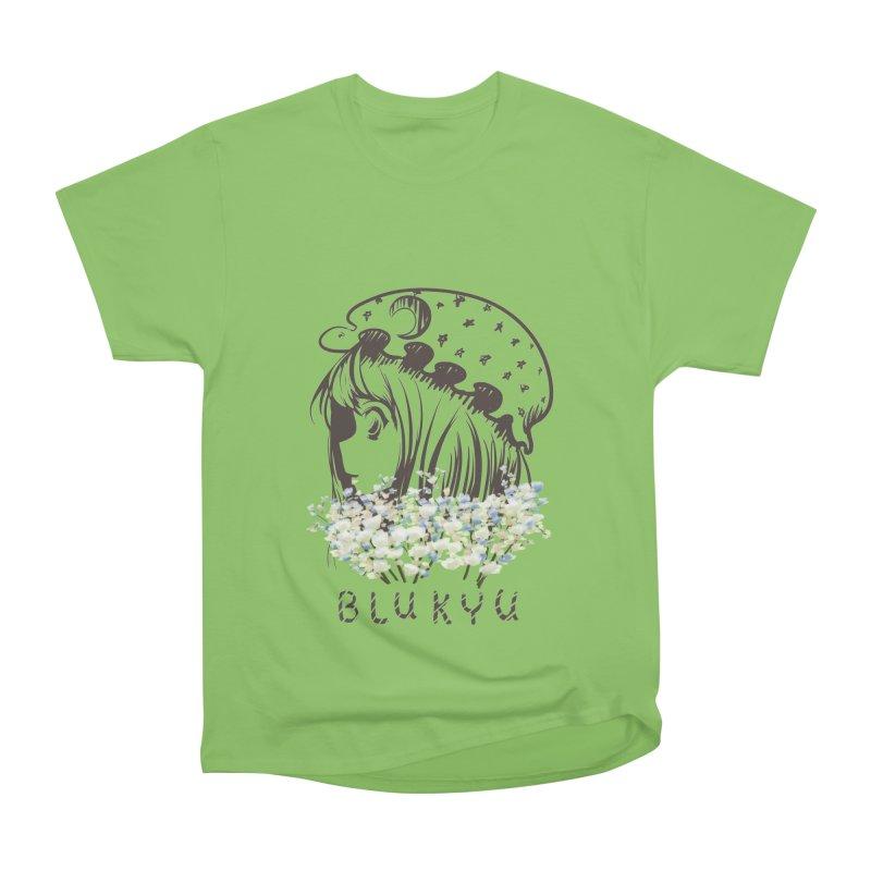 BLUKYU light color version Men's Heavyweight T-Shirt by kelletdesign's Artist Shop