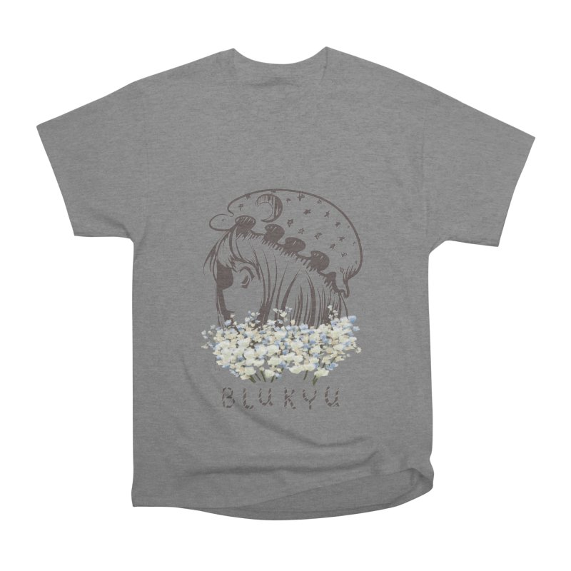 BLUKYU light color version Women's Heavyweight Unisex T-Shirt by kelletdesign's Artist Shop