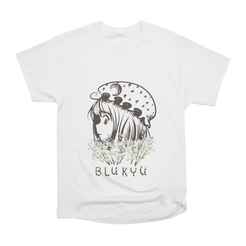 BLUKYU light color version Women's T-Shirt by kelletdesign's Artist Shop