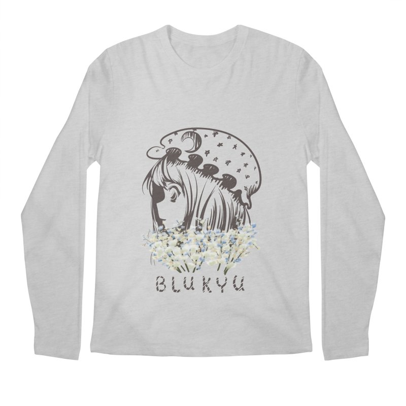 BLUKYU light color version Men's Longsleeve T-Shirt by kelletdesign's Artist Shop